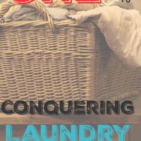Wicker laundry basket over flowing with clothes laundry tips