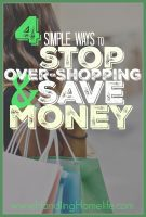 Ever worry you may be a shop-a-holic? Does your over-shopping cause complications in your life? The simple changes matter the most! Here are 4 ways you can control your shopping and start saving money today!