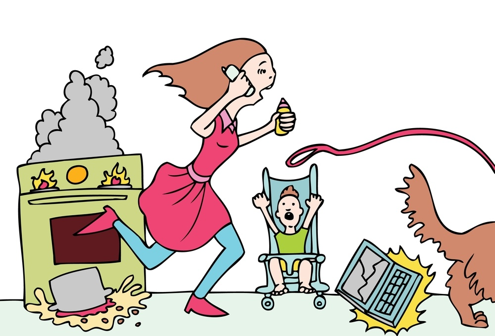a moms guide to being productive and happy at home
