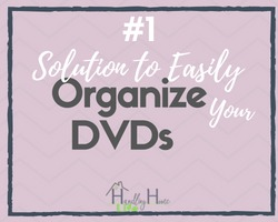 Best solution to easily organize your dvds