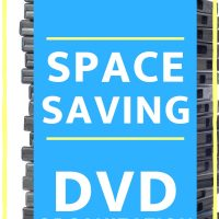 how to organize dvds to save space