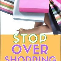 how to stop shopping and start saving money