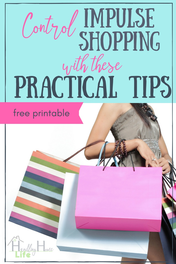 lady with shopping bags tips to control shopping and save money