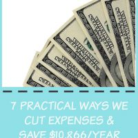 ways to save money-- over $10K this year!