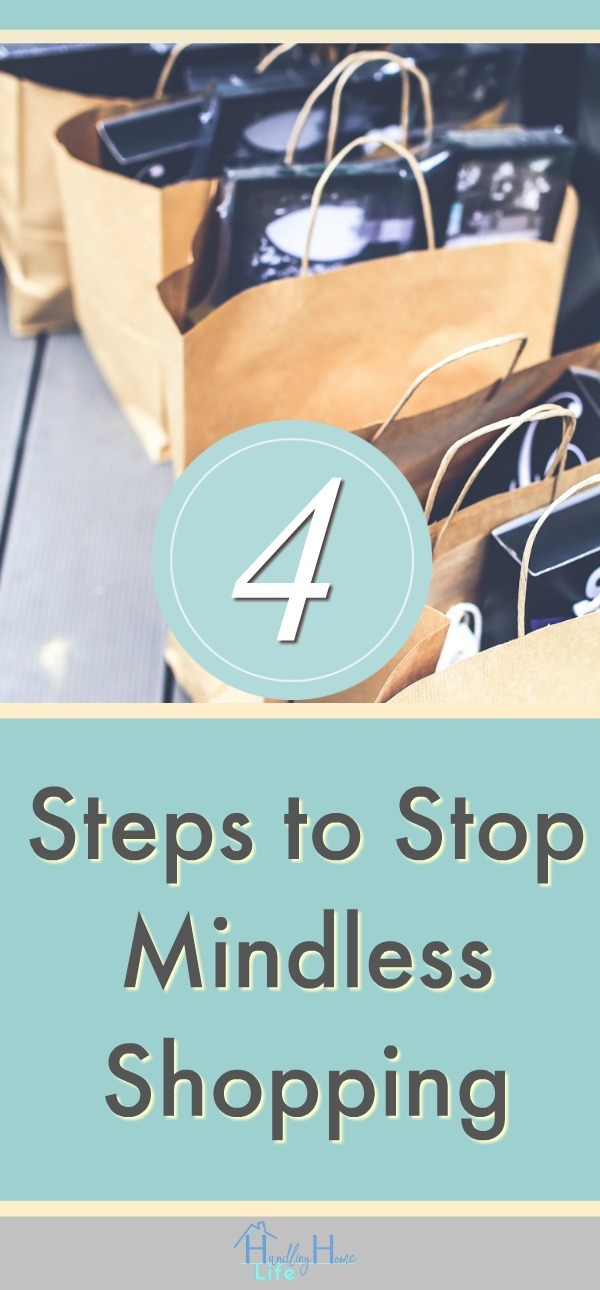 shopping bags 4 steps to stop mindless shopping