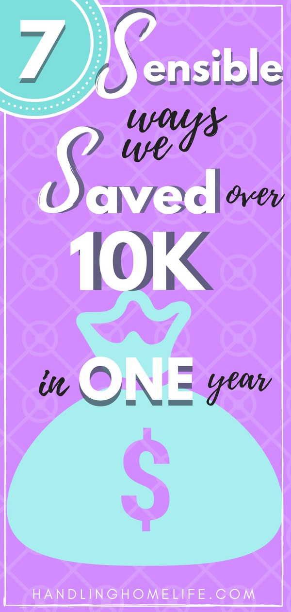 how to save money: save over $10k in one year