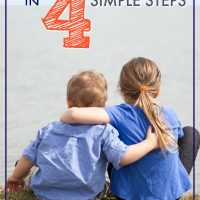 how to stop sibling rivalry in 4 steps
