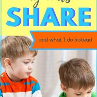 How to teach young children to share