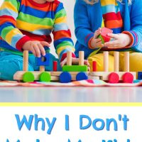 why i don't make kids share and what I do instead