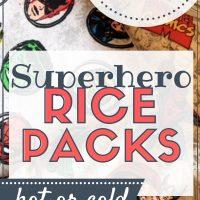 diy hot/cold rice packs