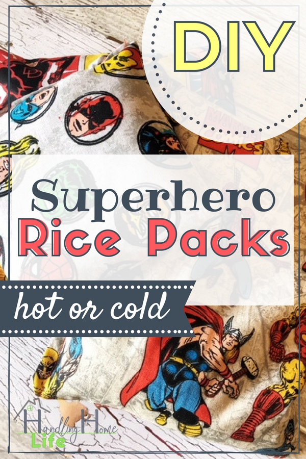 diy sewing project rice packs