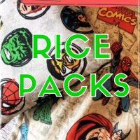 diy rice packs