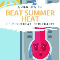 best summer heat relief for heat sensitivity