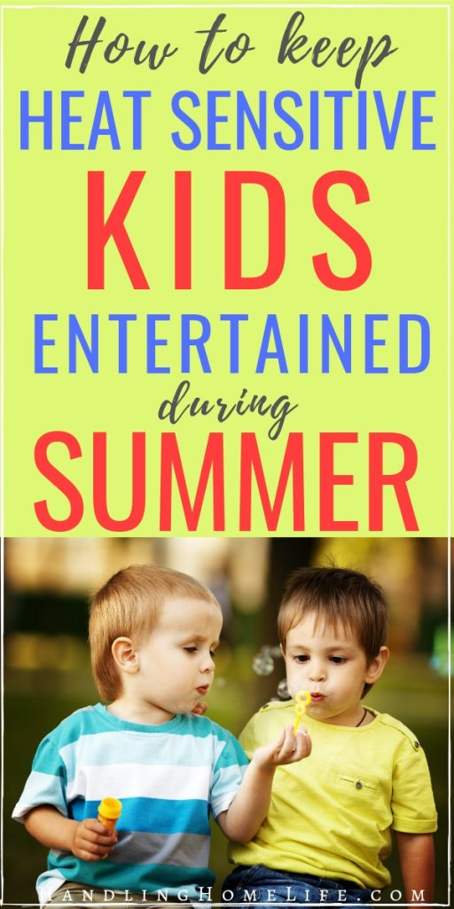 summer fun for kids with heat sensitivity