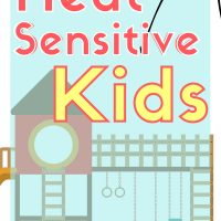 summer fun for kids with heat intolerance