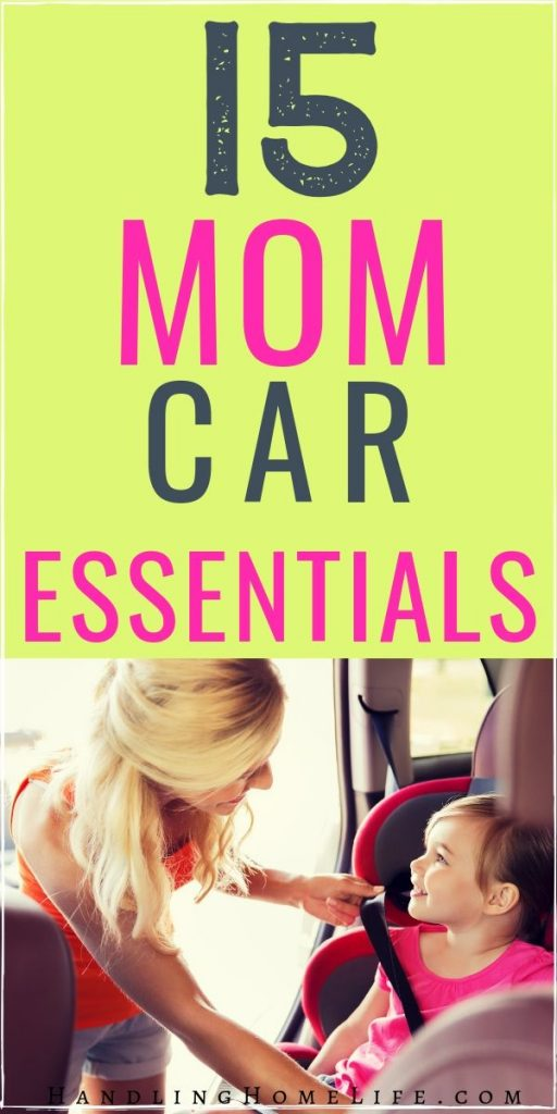 mom car essentials