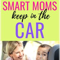 18 essential things moms keep in the car