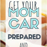 mom tips to organize mom car