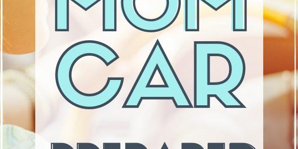 mom tips to organize mom car