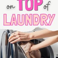 simple laundry routine