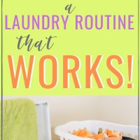 easy laundry routine for family