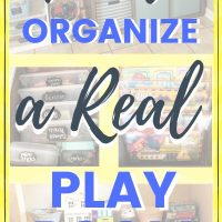 how to organize the kids playroom and toys