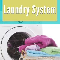 laundry routine for busy moms