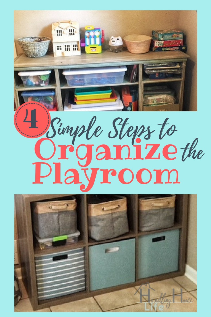 Playroom Organization: How to organize & declutter kids playroom