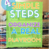 How to declutter and organize the kids playroom a diy from handling home life.com