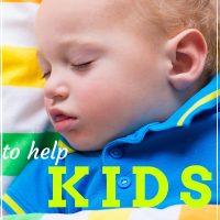 how to help kids sleep