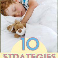 10 sleep tips to help your kids sleep all night