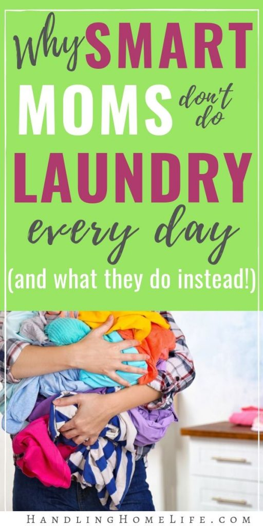 Organizing your laundry schedule
