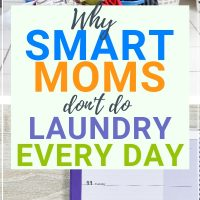 laundry routine for family