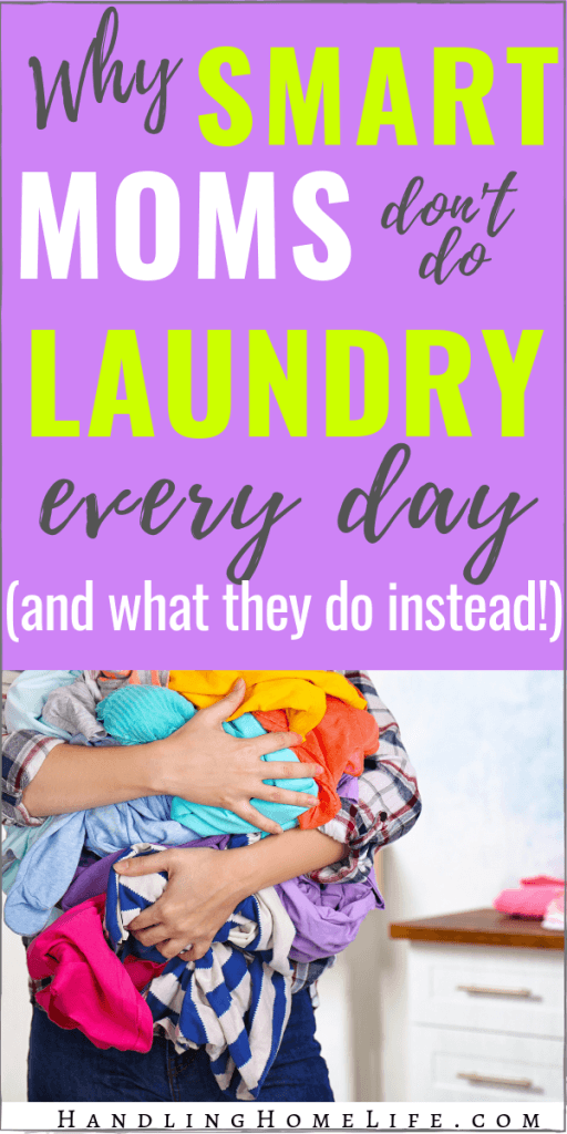simple laundry schedule for the busy family