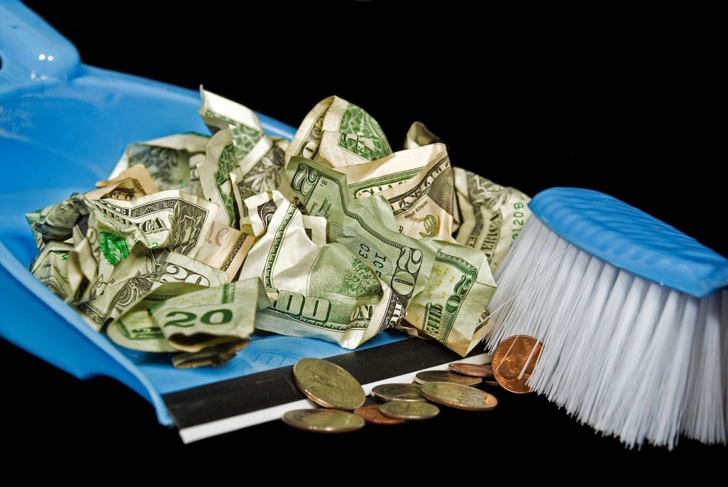 Stop throwing your money away on clutter