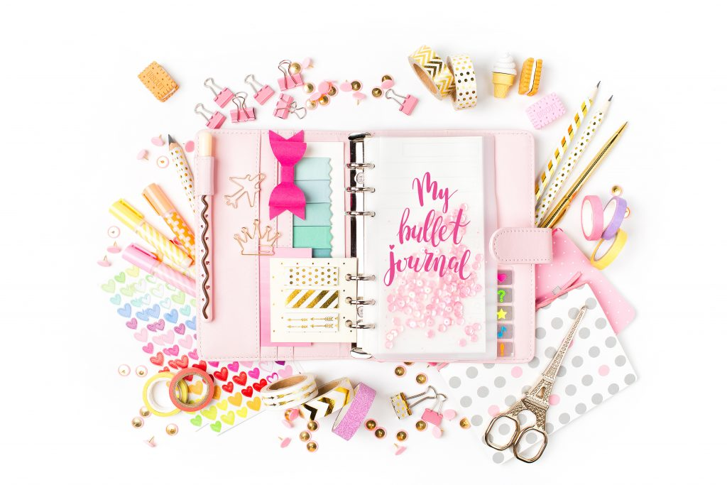 time management tools for moms: bullet journal