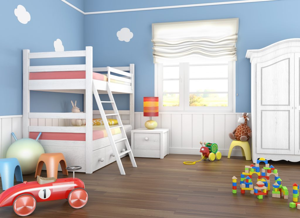 declutter the playroom and kids room