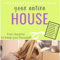 declutter your home and organize