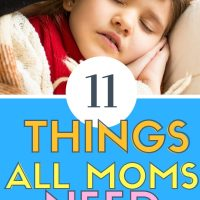 11 things all moms need in a sick kit