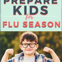 how to prepare kids immune system for the flu season