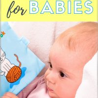 newborn activities: reading to baby boosts brain development