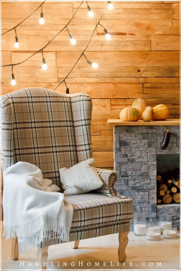 fall decorating ideas for the living room