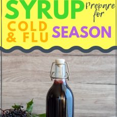 How to Make Immune Boosting Elderberry Syrup for Kids