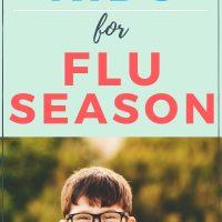how to prepare kids immune system for flu season