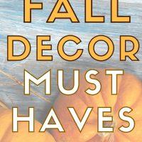 frugal fall home decor diy