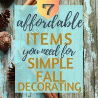 simple fall decor from handlinghomelife