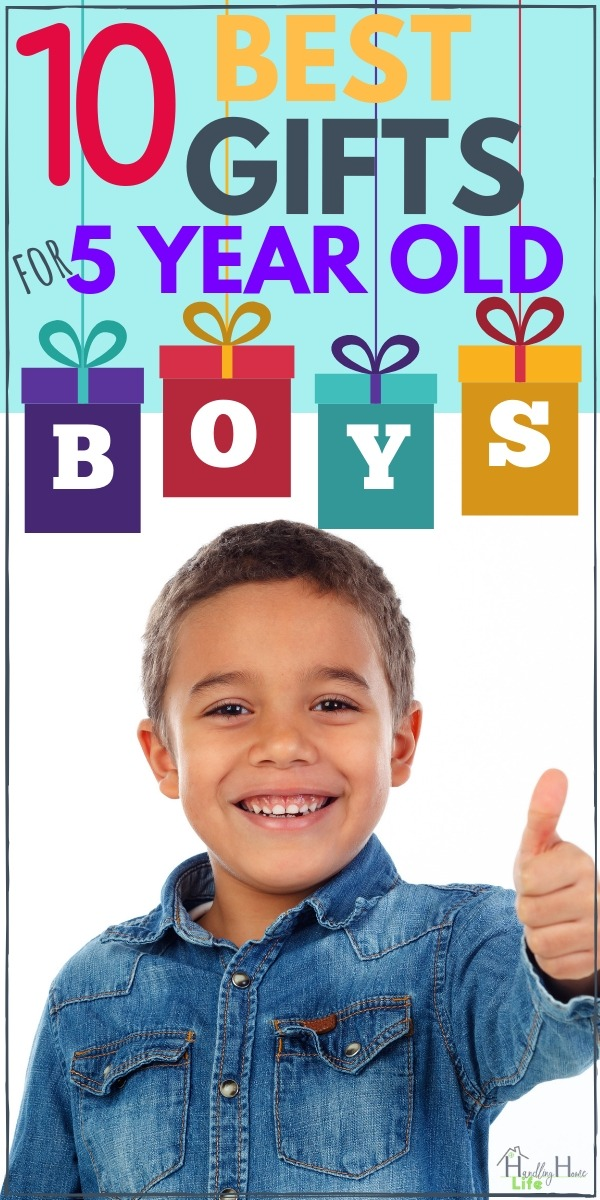 Best Gifts 5 Year Old Boys