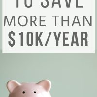money saving tips for frugal living