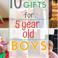 10 gift ideas for 5 year old boys