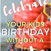 celebrate birthdays without a party